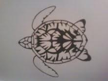 Turtle from Above by InkedEmii