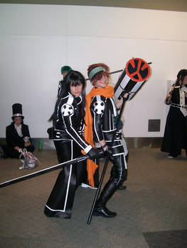 Otakon '08: Kanda and Lavi