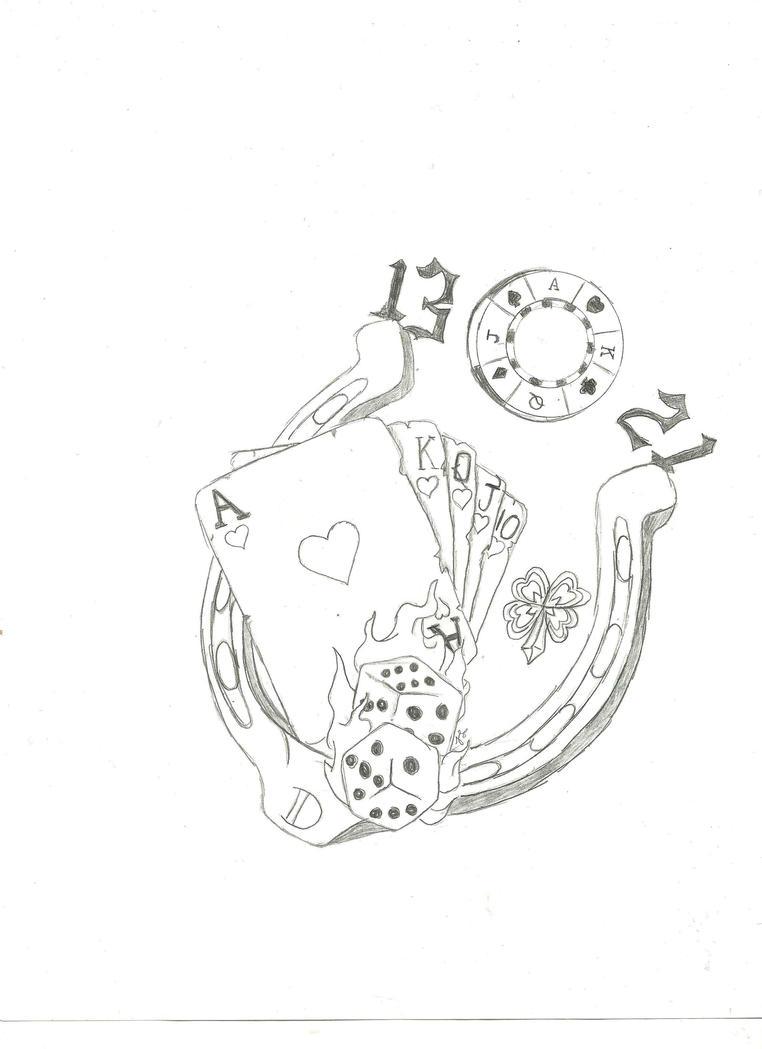 My lucky 7 tattoo by darkwolf222 on deviantart for Lucky seven tattoo