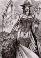 Vampir lady by LordMiste