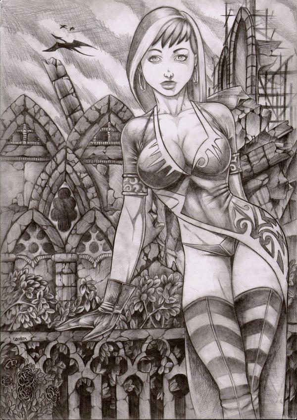 Alenka by LordMiste