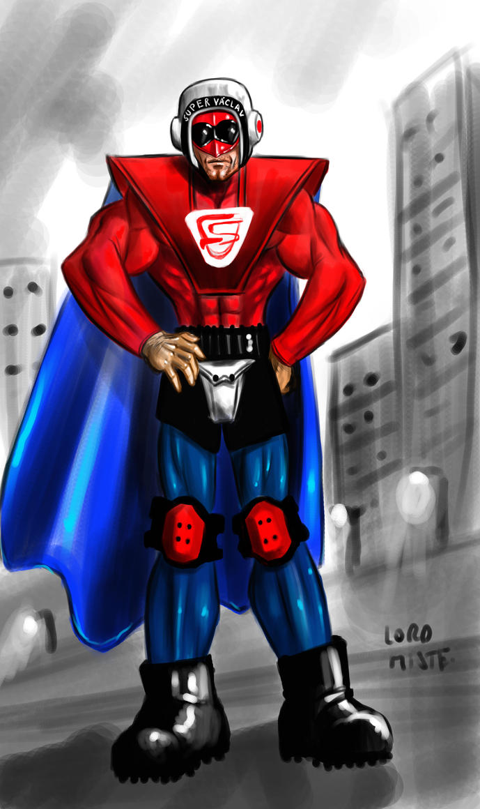 SuperVaclav by LordMiste