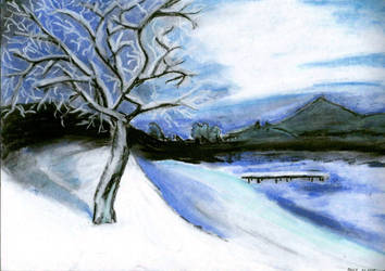 Winter View by mad-owca