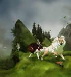 RoH: Isolfr and Tengu by ttazo