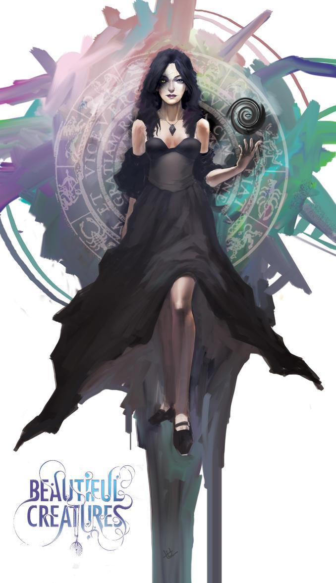 Dark Caster Lena by secret-schwarz