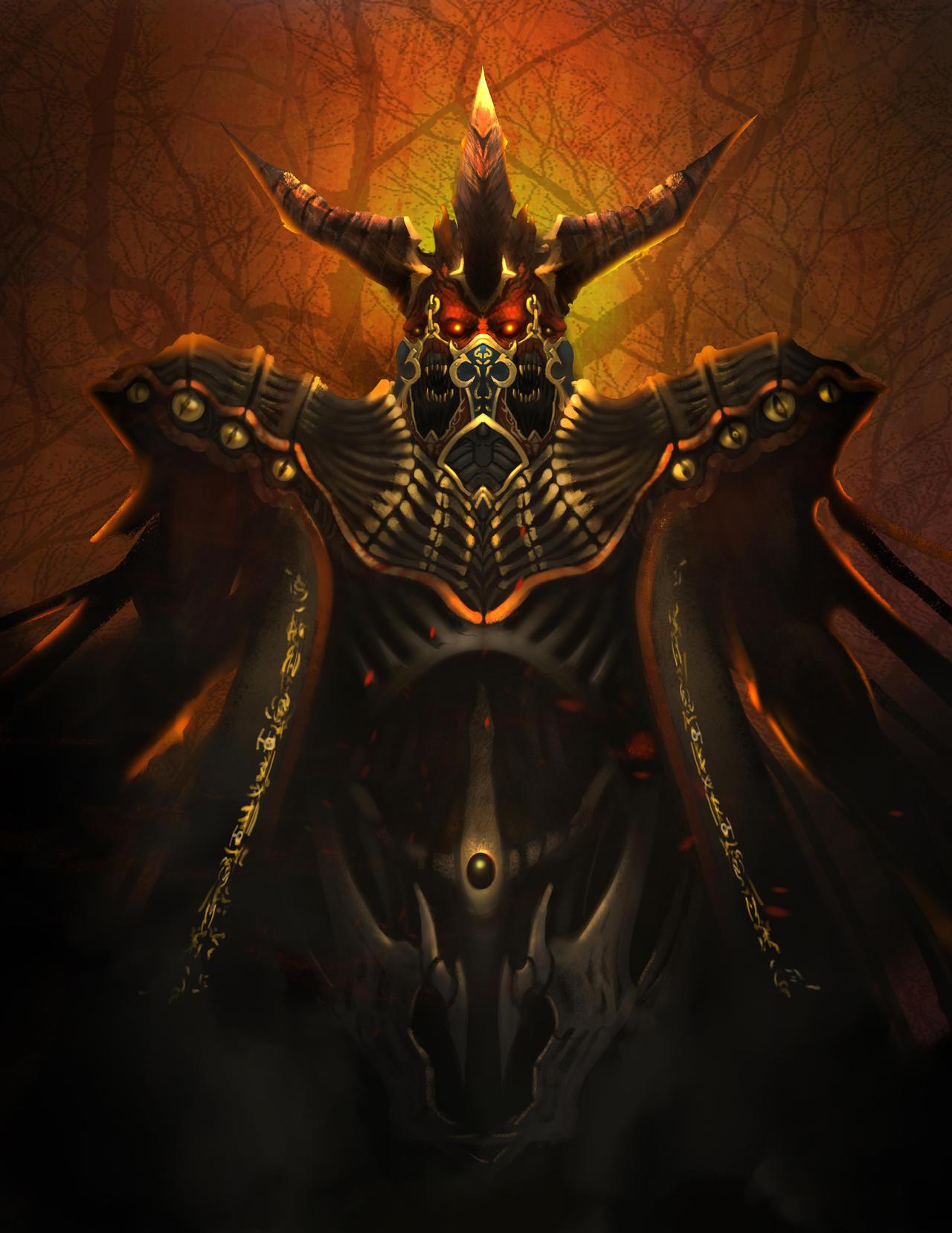 Diablo3-Belial by secret-schwarz on DeviantArt Baal Diablo 3