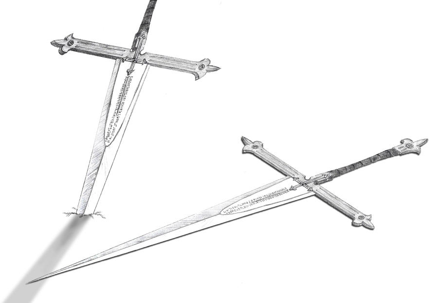 Weapons of Rebecca Kruzif by Joachim-Berger