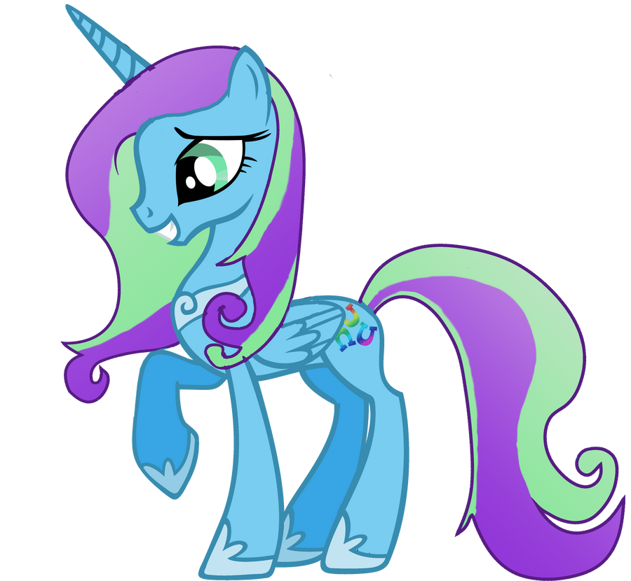 My little pony princess arraleigh by dixie diamond on - Princesse poney ...