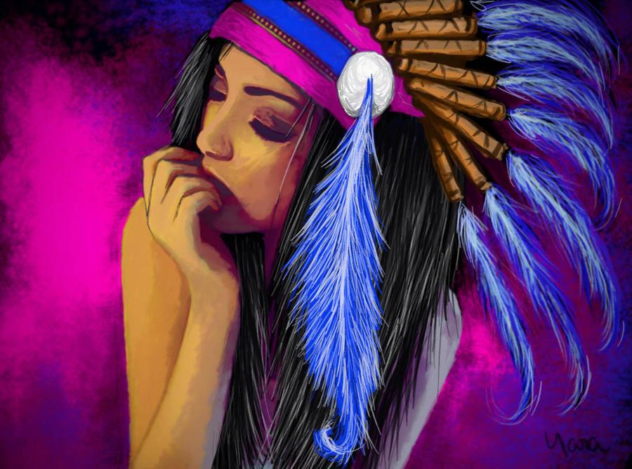 Blue Feathers by Rheatheranger