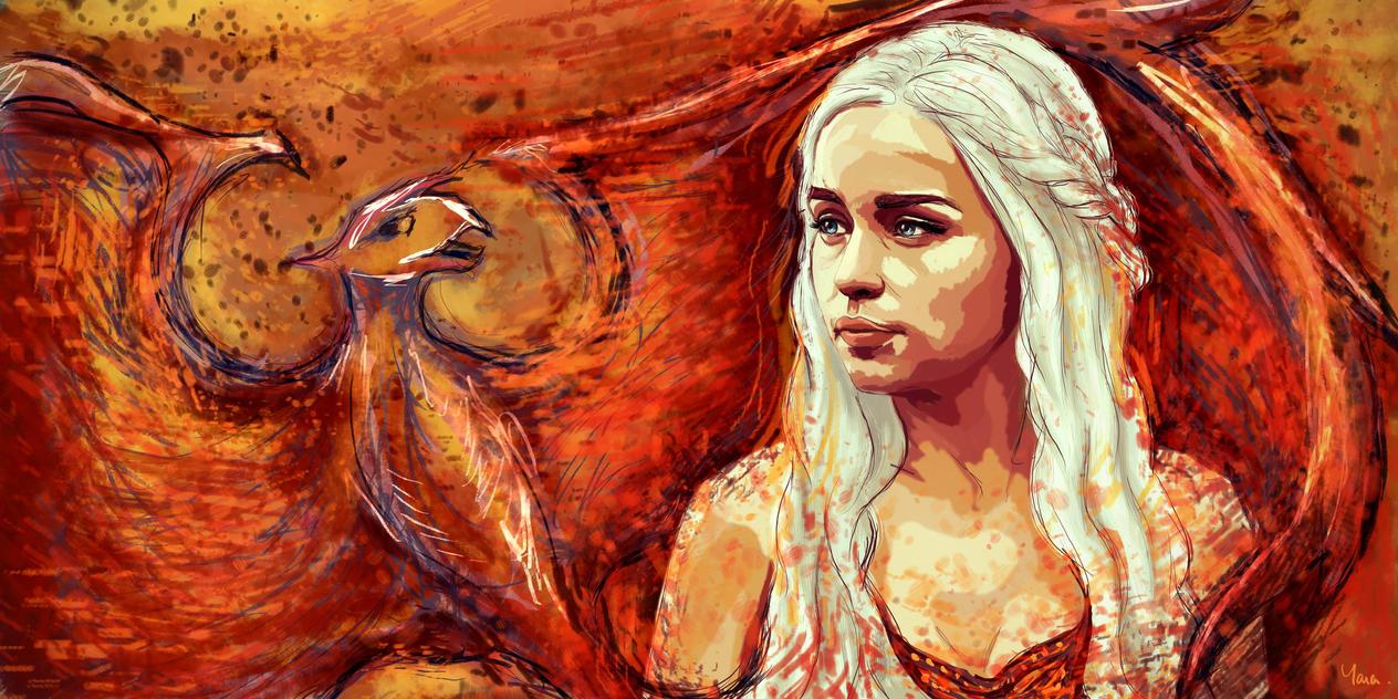 Daenerys by Rheatheranger