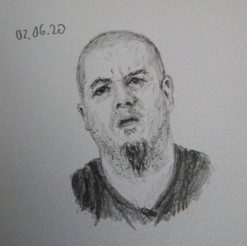 Phil Anselmo portrait