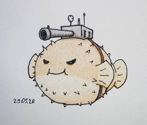 puffer fish cannoneer