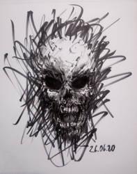 rage skull