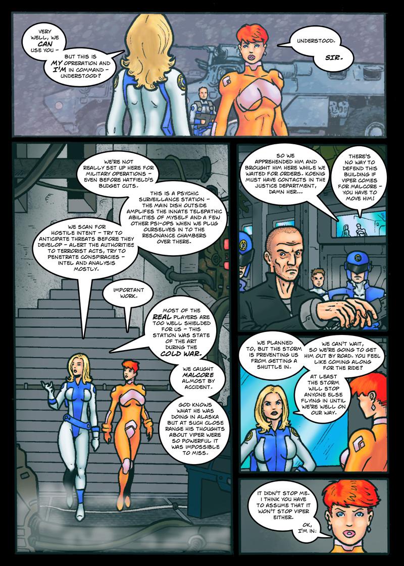 Dark Justice: page 4 by Kostmeyer