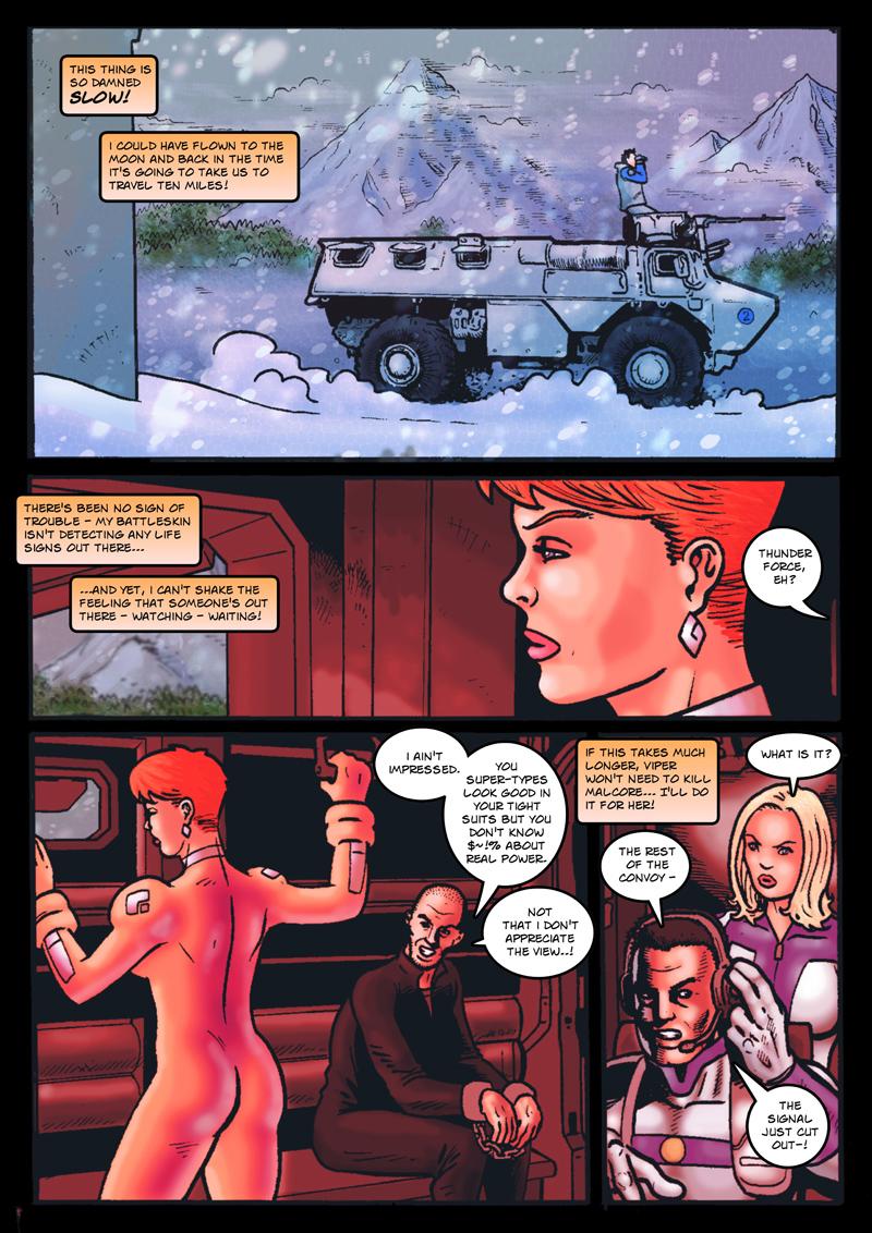 Dark Justice: page 5 by Kostmeyer