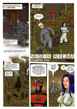 Vigil: Nexus Sigma Chapter Three page 7