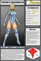 VIPER'S COLOSSEUM: Paragon Reference Sheet by Kostmeyer