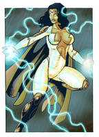 Commission: Thunder Woman by Kostmeyer