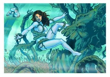 Commission: Spacegirl #2