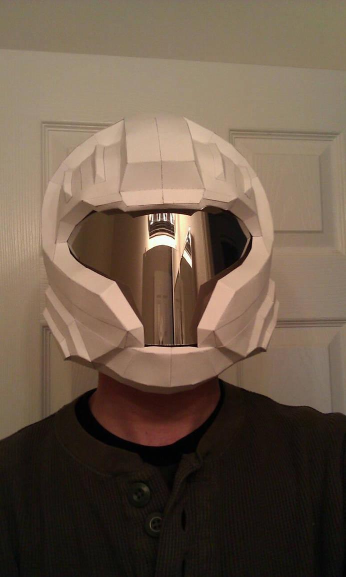 Halo Reach CQB helmet by GothX on DeviantArt