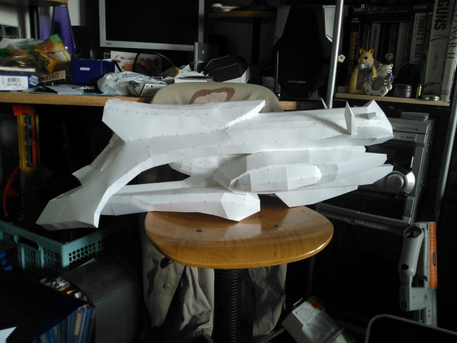Halo Reach Paper Plasma Turret by GothX