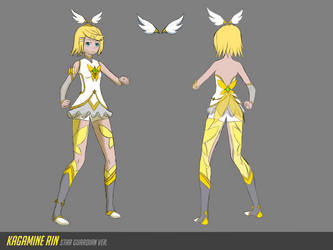 Star Guardian Rin - Reference Sheet