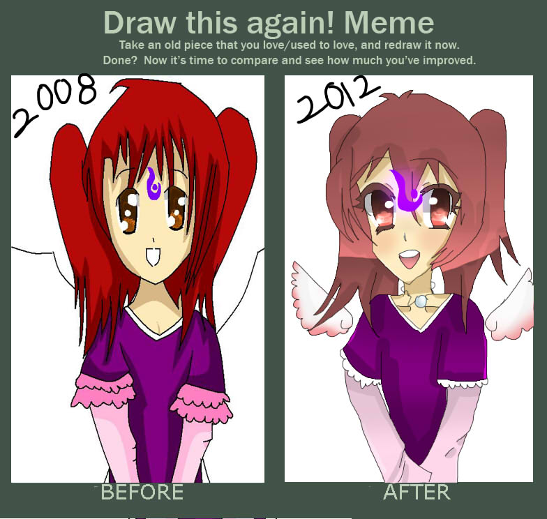 Draw again meme 2 by ichigon203 on deviantart for Draw this again meme template