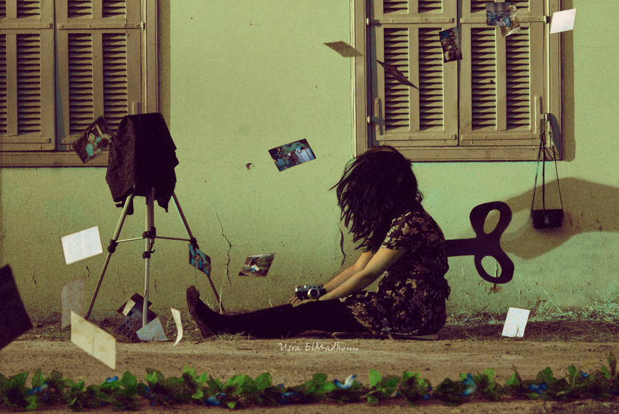 The Tired Photographer by Usra