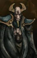 Necrontyr by Skrumpgoblin