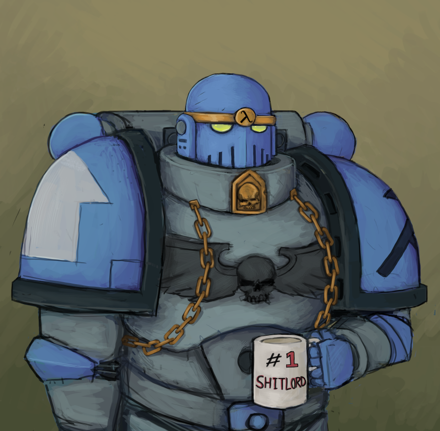 Space Marine Commission by Captain-Asparagus