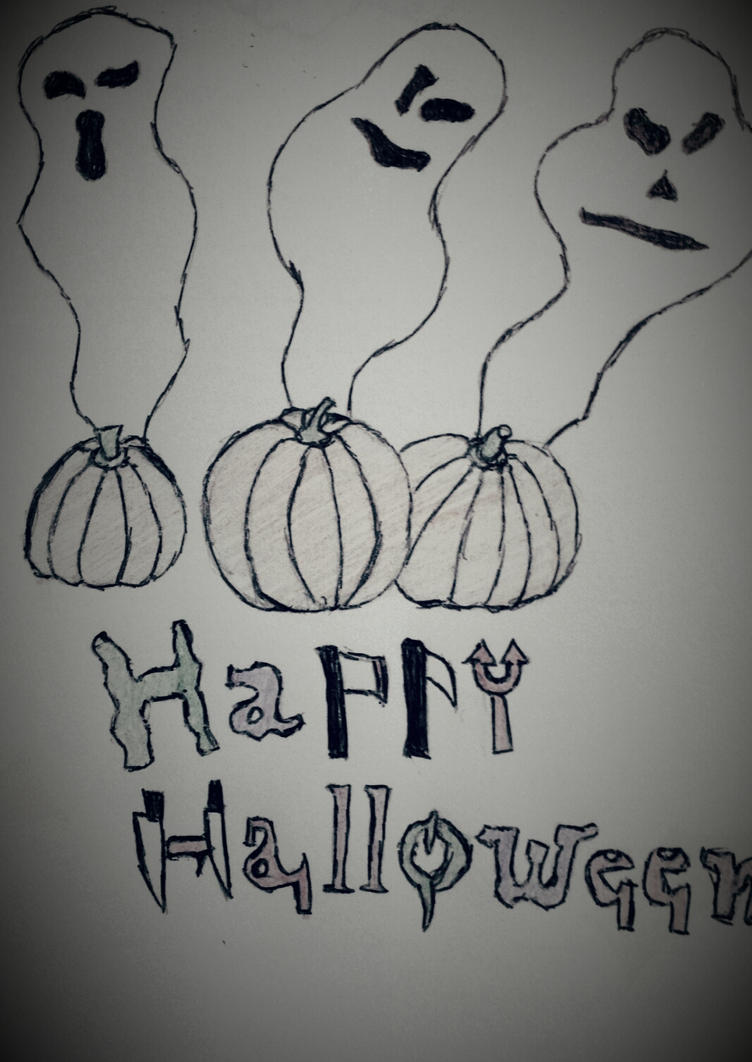 Halloween's Ghost by atram95