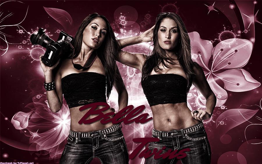 bella twins wallpaper by starstruckps on deviantart