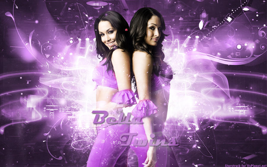 Bella Twins Wallpaper By StarstruckPS