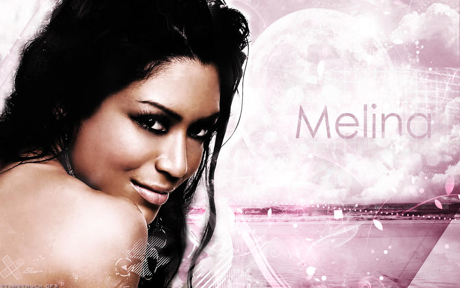 Melina Perez wallpaper by StarstruckPS on deviantART