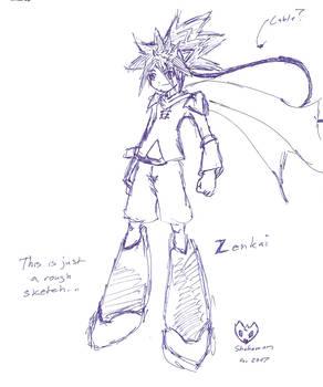 Zenkai of Megaman Skrya