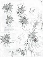 Zenkai of Megaman Skyra