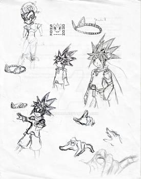 Doodles- Of Zenkai and Zero