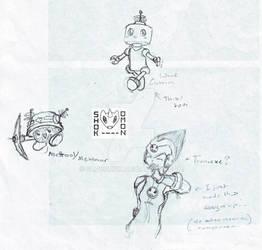 Doodles- Skrya Tron, Mettool??