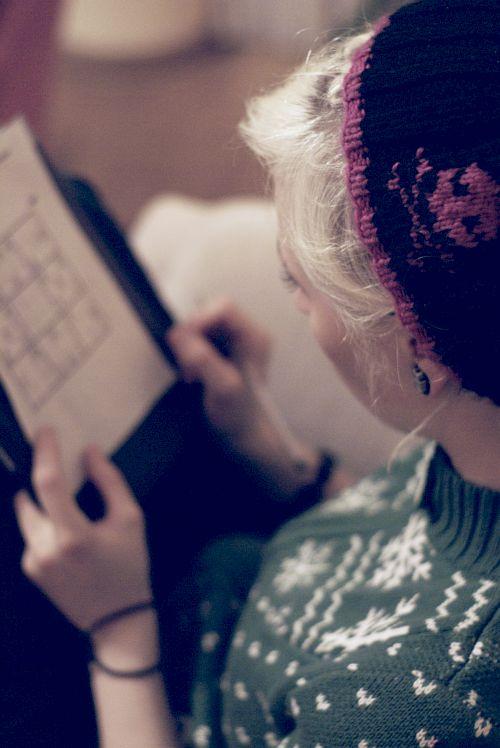 sudoku. by cherrysuicide
