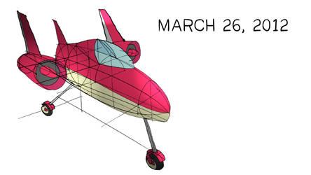 Plane Sketch by darthfurby