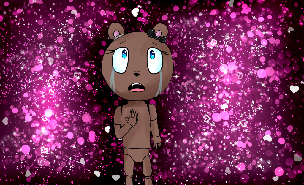 my new oc Kerstiny five nights at freddy's by htfloveAPH