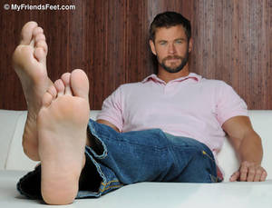 Chris Hemsworth's Feet