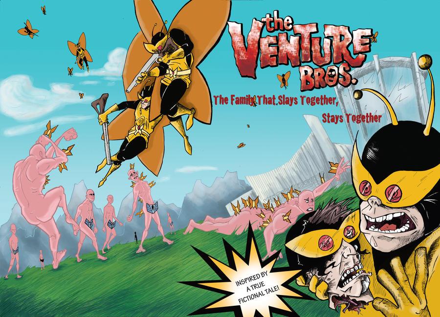 Venture Bros Wraparound Cover by justinprokowich