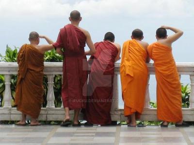Budhists by ifucku