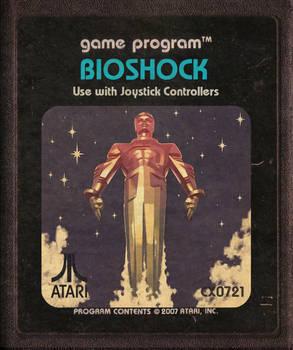Bioshock Atari Catridge Icon