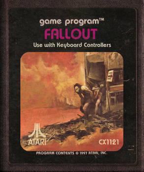 Fallout Atari Cartridge Icon