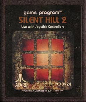 Silent Hill 2 Atari Carttridge Icon