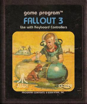 Fallout 3 Atari Cartridge Icon