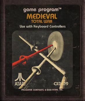 Medieval Total War Atari Cartridge Icon