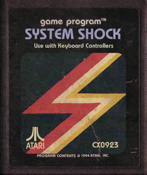 System Shock Atari Cartridge Icon